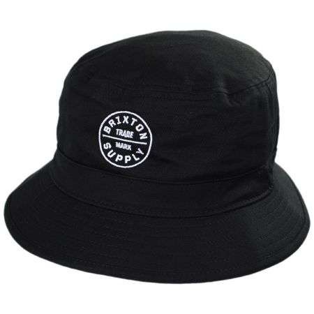 Brixton Hats Oath Cotton Bucket Hat