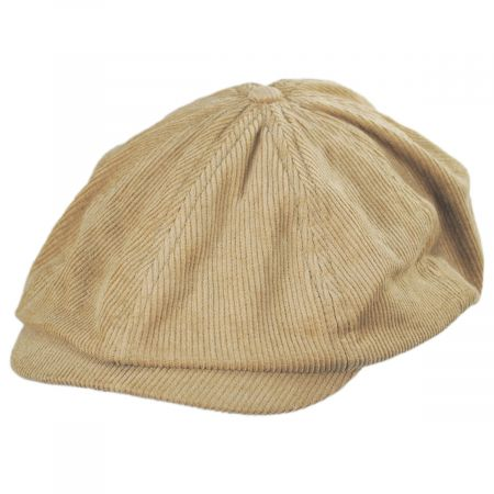 Brood Adjustable Corduroy Newsboy Cap alternate view 1