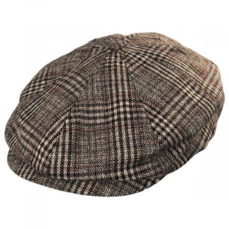 Brood Plaid Wool Blend Newsboy Cap alternate view 7