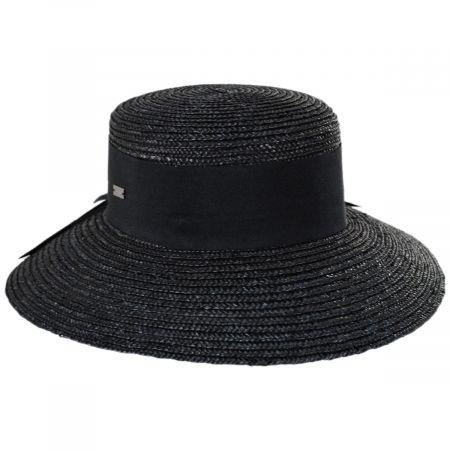 Betmar Riveria Milan Straw Downbrim Sun Hat