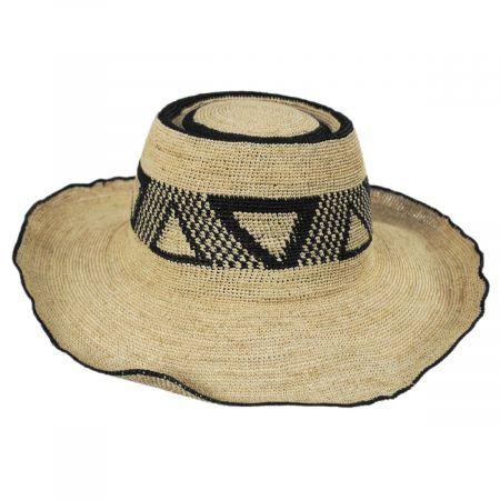 Brixton Hats Pecos Raffia Straw Sun Hat