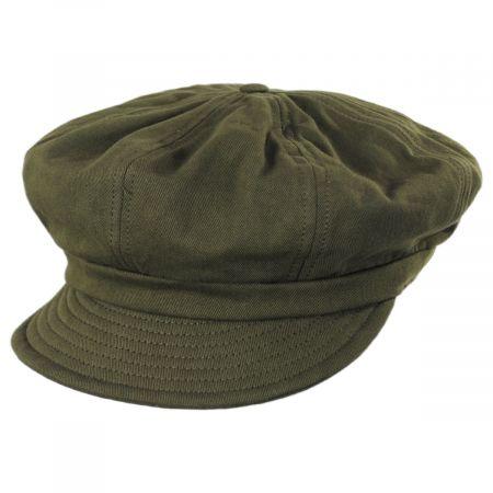 Brixton Hats Montreal Cotton Unstructured Baker Boy Cap