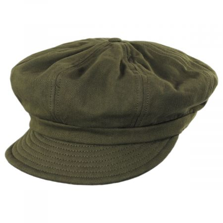 Montreal Cotton Unstructured Baker Boy Cap alternate view 9
