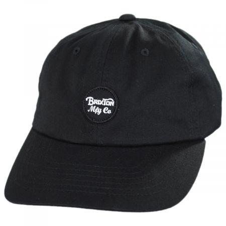 Brixton Hats Wheeler LoPro Strapback Baseball Cap Dad Hat