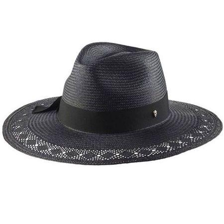 Avia Panama Straw Fedora Hat