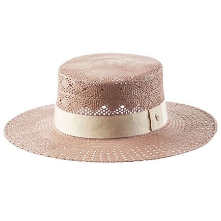 Cora Panama Straw Boater Hat alternate view 3