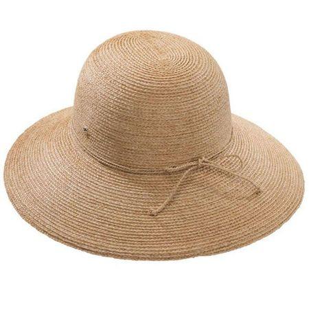 NATURAL3 Mens /& Womens Classic 100/% Raffia Western Cowboy Straw Hat