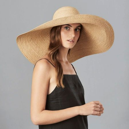 Gillen Raffia Braid Oversized Wide Brim Sunhat alternate view 3