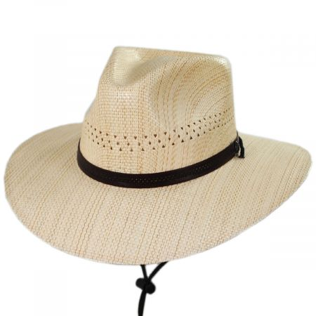 Barcelona Laminated Toyo Western Hat alternate view 1