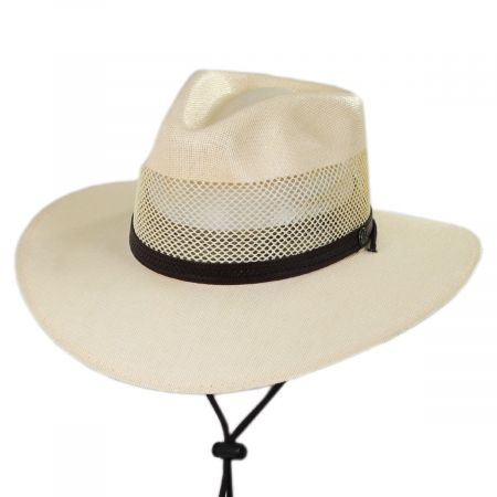 Florence Laminated Toyo Western Hat
