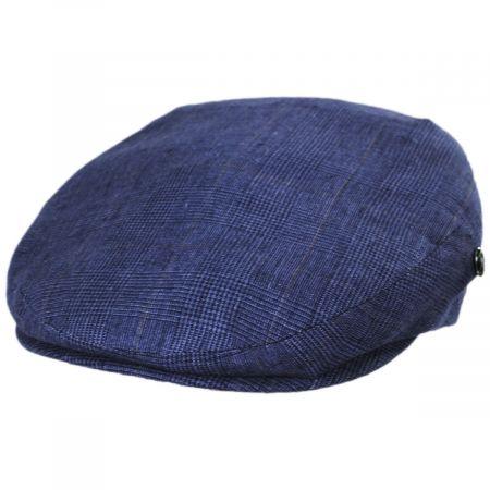 City Sport Caps Plaid Linen Ivy Cap