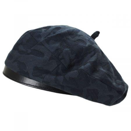 afb684ee Cotton Beret at Village Hat Shop