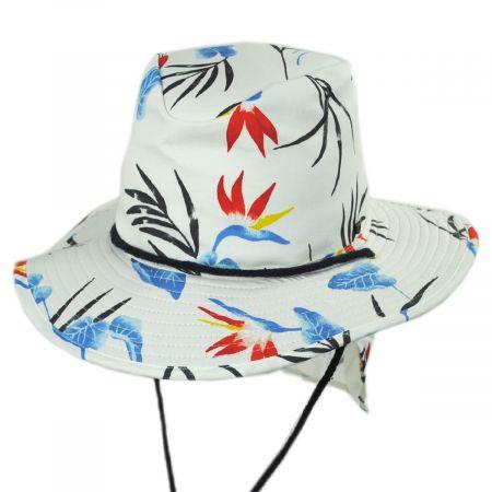 Brixton Hats Louise Neck Flap Cotton Aussie Hat