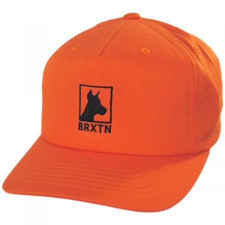 Brixton Hats Zeus Snapback Baseball Cap