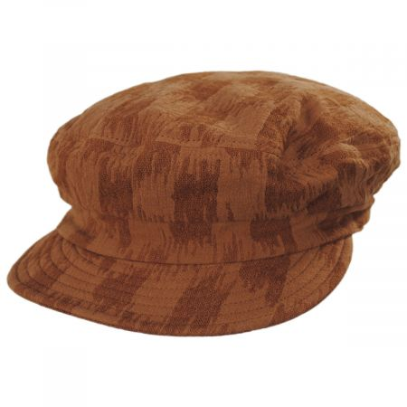 Unstructured Cotton and Linen Fiddler Cap
