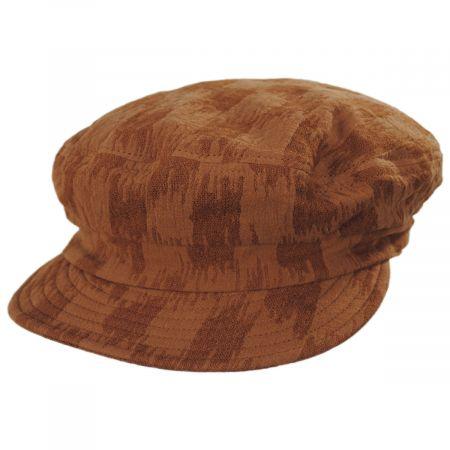 Brixton Hats Unstructured Cotton and Linen Fiddler Cap