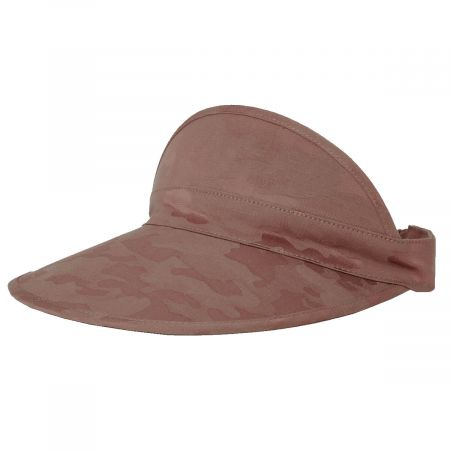 Brixton Hats Monroe Cotton Blend Visor