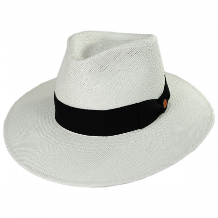 Nizza Grade 8 Panama Straw Fedora Hat alternate view 1