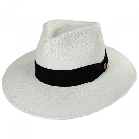 Nizza Grade 8 Panama Straw Fedora Hat alternate view 9