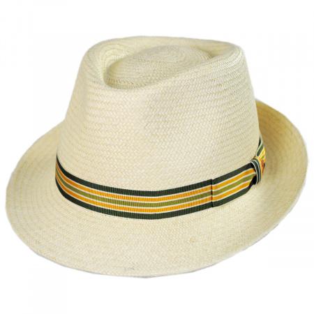 Mayser Hats Henrik Grade 3 Panama Straw Fedora Hat