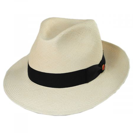 Mayser Hats William Grade 18 Panama Straw Fedora Hat