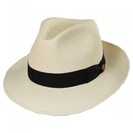 William Grade 18 Panama Straw Fedora Hat alternate view 1