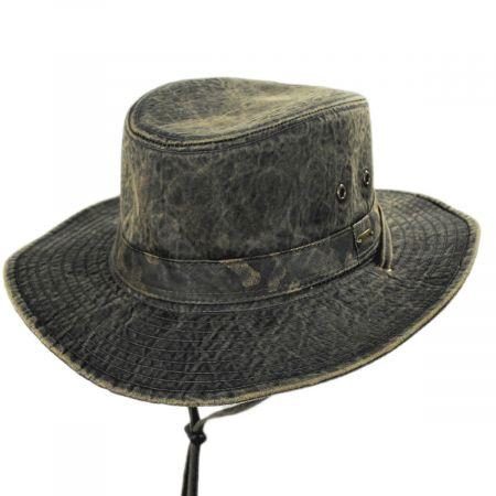 Alder Weathered Cotton Tiller Hat alternate view 1