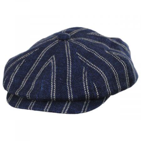 a89784bc68557 Linen Newsboy Cap at Village Hat Shop