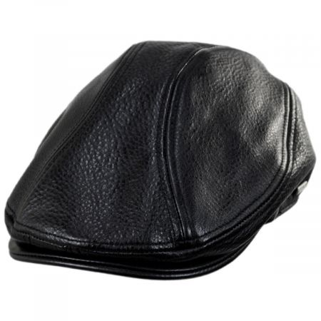 Stetson Moher Oily Timber Leather Ivy Cap