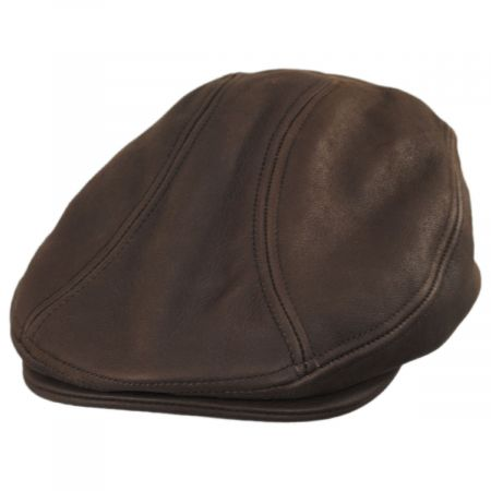 Moher Oily Timber Leather Ivy Cap alternate view 5