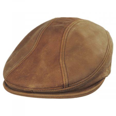 Vintage 1900 Leather Ivy Cap