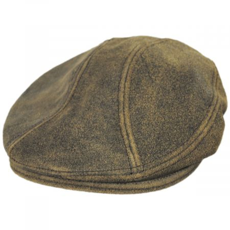 New York Hat Company Antique 1900 Leather Ivy Cap