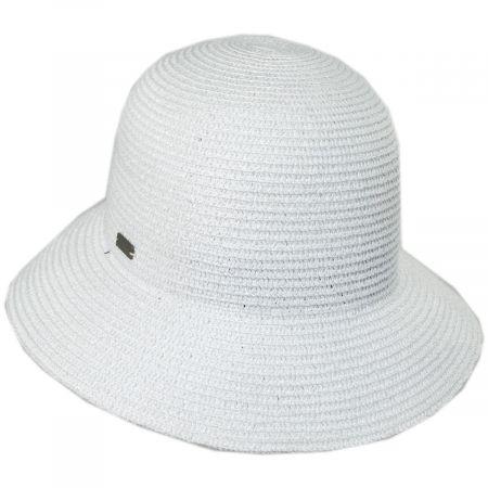 Gossamer Toyo Straw Blend Cloche Hat alternate view 25