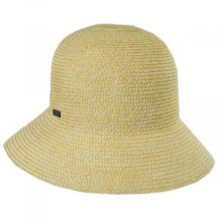 Gossamer Toyo Straw Blend Cloche Hat alternate view 13