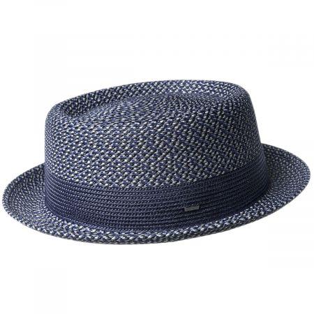 Bailey Telemannes Braid Straw Pork Pie Hat