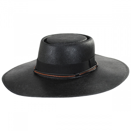 Biltmore Bohemian Toyo Straw Gaucho Hat