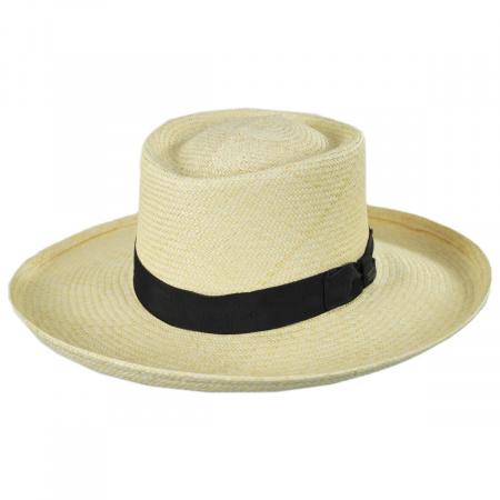 Panama Straw Gambler Hat alternate view 1