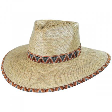 Joanna Palm Straw Fedora Hat alternate view 17