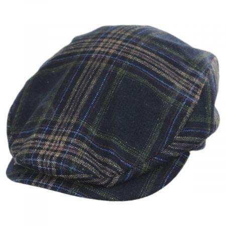 Mayser Hats Frankie Plaid Silk Ivy Cap