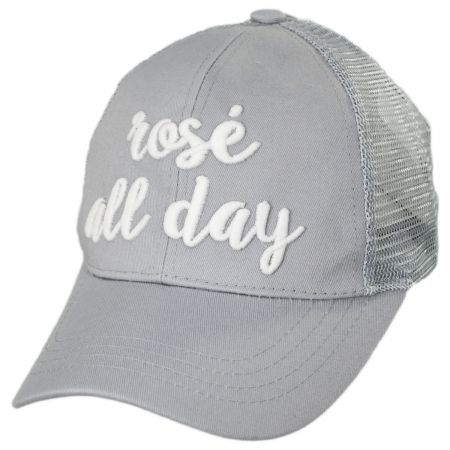 High Ponytail Rose All Day Mesh Adjustable Baseball Cap alternate view 6
