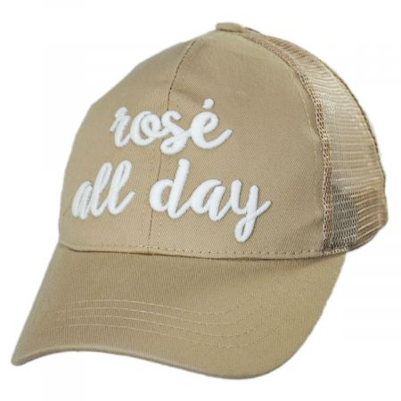 High Ponytail Rose All Day Mesh Adjustable Baseball Cap alternate view 10
