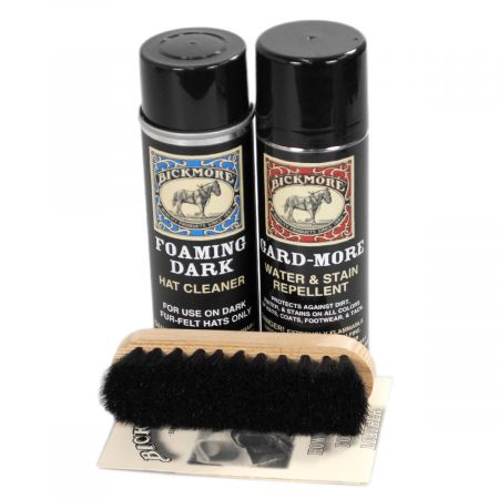 Bickmore Foaming Dark Hat Care Kit