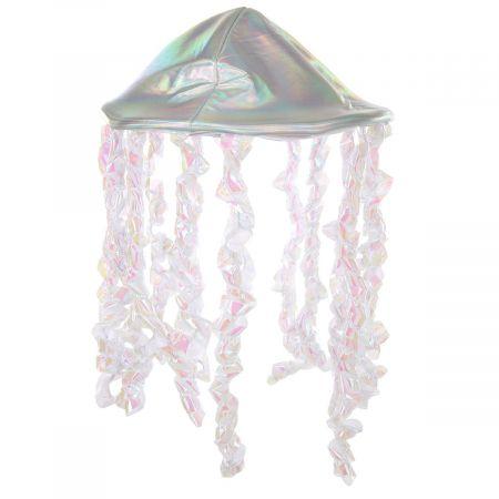 Holographic Jellyfish Hat