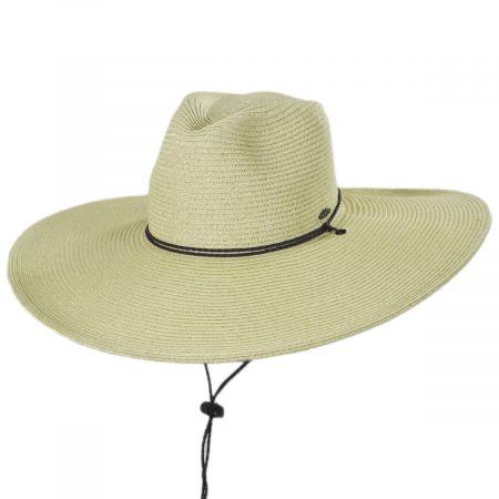 Karen Keith Lifeguard Toyo Straw Blend Sun Hat