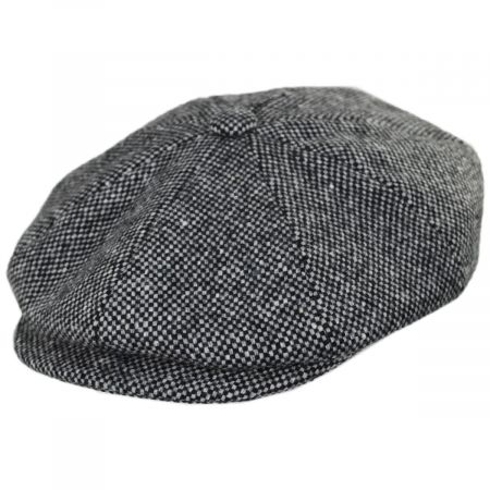 Galvin Wool Tweed Newsboy Cap alternate view 17