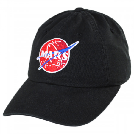 American Needle NASA Mars Strapback Baseball Cap Dad Hat