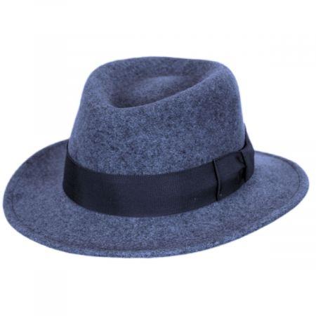Robin Wool LiteFelt Fedora Hat alternate view 5