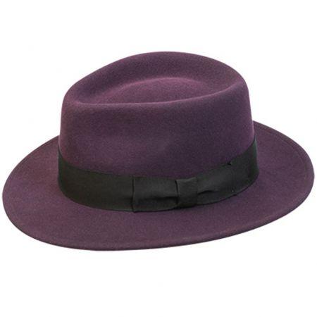 Robin Wool LiteFelt Fedora Hat alternate view 2
