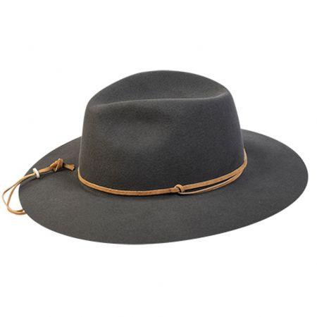 Pantropic Logan Wool LiteFelt Aussie Fedora Hat