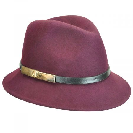 Darcy Wool Felt Fedora Hat alternate view 5